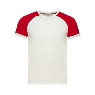 Le Coq Sportif T-shirt Tricolore Homme Blanc France Magasin