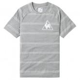 Le Coq Sportif T-shirt Tricolore Homme Gris Boutique