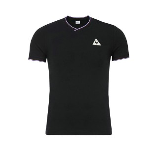 Le Coq Sportif T-shirt Tricolore Homme Noir Personnalisé