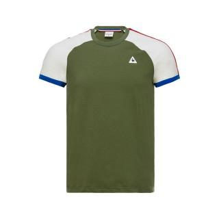 Le Coq Sportif T-shirt Tricolore Homme Vert Pas Chere