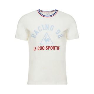 FR Le Coq Sportif T-shirt de Présentation Racing 92 Homme Blanc
