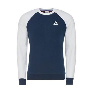 Le Coq Sportif Tee Sweat Essentiels Homme Bleu Blanc Site Officiel