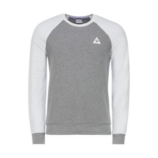 Boutique Le Coq Sportif Tee Sweat Essentiels Homme Gris Blanc Paris