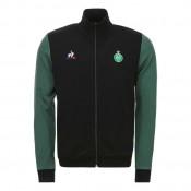 Collection Le Coq Sportif Veste de survêtement ASSE Fanwear Homme Noir Soldes