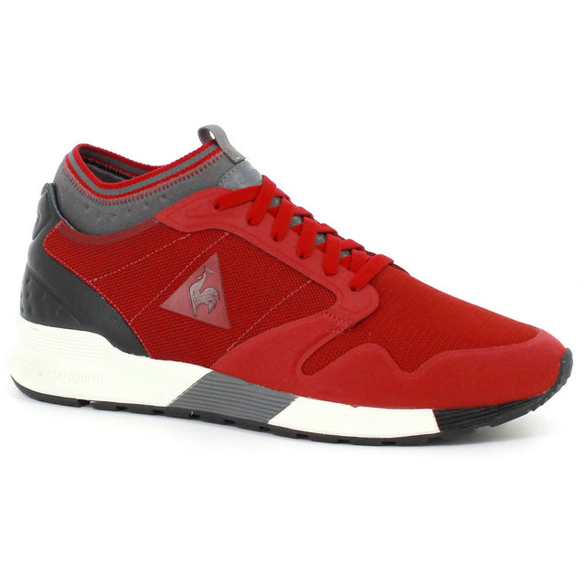 Basket Le Coq Sportif Omicron Craft Homme Rouge