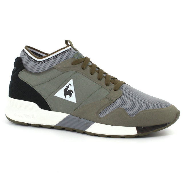 basket le coq sportif omicron techlite homme vert noir vendre marseille. Black Bedroom Furniture Sets. Home Design Ideas
