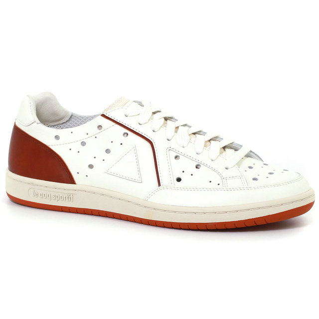 Chaussures Le Coq Sportif Icons Tr Leather Homme Marron