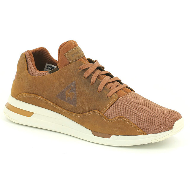 Chaussures Le Coq Sportif Lcs R Pure Pull Up Leather/Mesh Homme Marron