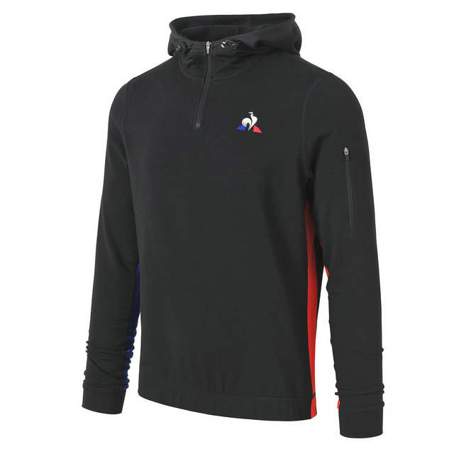 Le Coq Sportif Sweat à capuche Performance Training Homme Noir