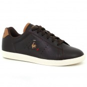 Collection Basket Le Coq Sportif Courtone Gs S Lea Craft Fille Marron Soldes