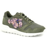 Basket Le Coq Sportif Omega X W Embroidery Femme Vert Europe