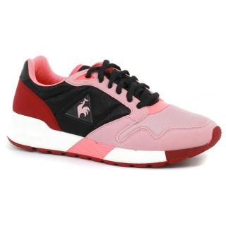 Solde Basket Le Coq Sportif Omega X W Mesh Femme Noir Rose