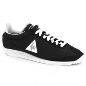 Authentique Basket Le Coq Sportif Quartz Nylon Femme Noir Gris