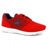 Chaussures Le Coq Sportif Dynacomf Gs 3D Mesh Fille Rouge Bleu Remise prix