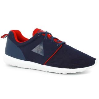 Achat de Chaussures Le Coq Sportif Dynacomf Mesh Femme Bleu Rouge