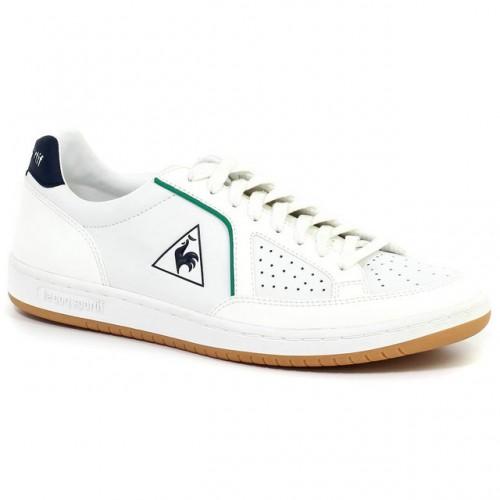 076b4e3a68a87 Chaussures Le Coq Sportif Icons Lea Sport Gum Femme Blanc Vert Site Officiel