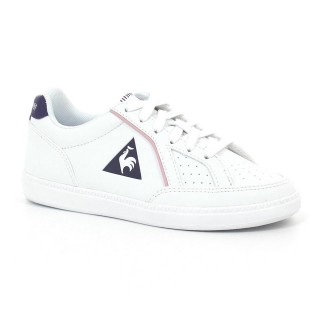 Chaussures Le Coq Sportif Icons Ps Girl Fille Blanc Violet Original