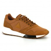 Mode Chaussures Le Coq Sportif Omega X S Nubuck Outdoor Homme Marron
