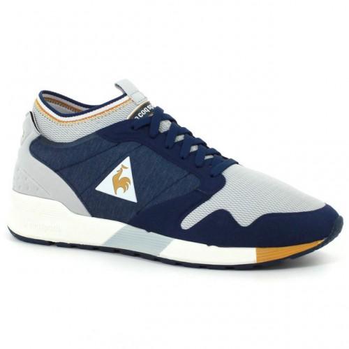 57e7a3fe78a Chaussures Le Coq Sportif Omicron Techlite Homme Bleu Jaune Remise prix