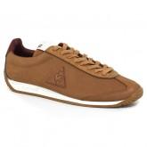 Chaussures Le Coq Sportif Quartz Lea Maroquinerie Homme Marron Rouge Boutique France
