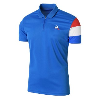 Vente Le Coq Sportif Polo Richard Gasquet Homme Bleu