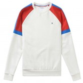 Le Coq Sportif Sweat Tricolore Homme Blanc Soldes Nice