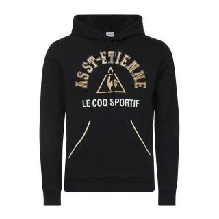 En ligne Le Coq Sportif Sweat à capuche ASSE Fanwear Homme Noir