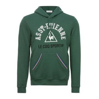Le Coq Sportif Sweat à capuche ASSE Fanwear Homme Vert Pas Cher Provence