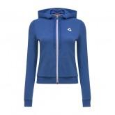 Boutique Le Coq Sportif Sweat à capuche Essentiels Femme Bleu Paris