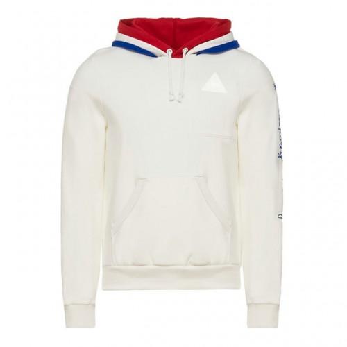 Blanc À 1882 Au Sweat Homme Capuche Le Coq Sportif Tricolore 8BHTO