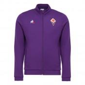 Le Coq Sportif Sweat zippé Fiorentina Pres Homme Violet Remise Lyon