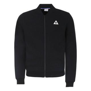 Le Coq Sportif Sweat zippé Tricolore Homme Noir Magasin Paris