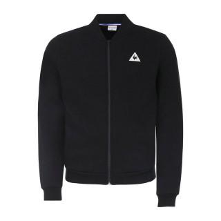 2017 Nouvelle Le Coq Sportif Sweat zippé Tricolore Homme Noir