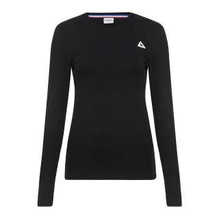Le Coq Sportif T-Shirt Manches Longues Essentiels Femme Noir Moins Cher
