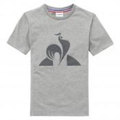 Le Coq Sportif T-shirt Essentiels Enfant Garçon Gris Personnalisé