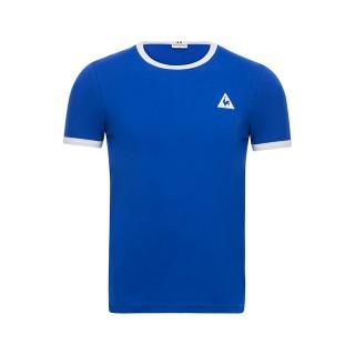 Le Coq Sportif T-shirt Essentiels Homme Bleu Blanc Remise prix