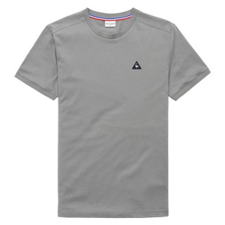 Vente Privee Le Coq Sportif T-shirt Essentiels Homme Gris Blanc