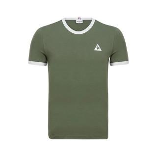 Rabais Le Coq Sportif T-shirt Essentiels Homme Vert Blanc