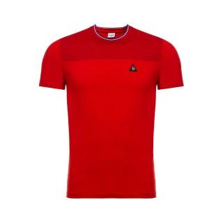 2017 Nouvelle Le Coq Sportif T-shirt LCS Tech Homme Rouge