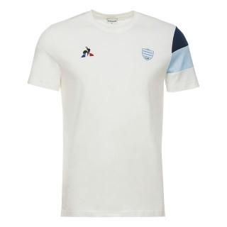 Le Coq Sportif T-shirt Racing 92 Fanwear Homme Blanc Rabais Paris