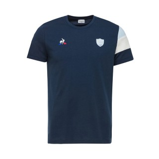 Le Coq Sportif T-shirt Racing 92 Fanwear Homme Bleu Soldes Marseille