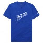 Le Coq Sportif T-shirt TDF 2017 Fanwear N°2 Homme Bleu Vendre France