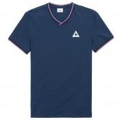 Le Coq Sportif T-shirt Tricolore Homme Bleu Vendre Lyon