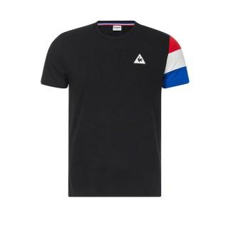Prix Le Coq Sportif T-shirt Tricolore Homme Noir