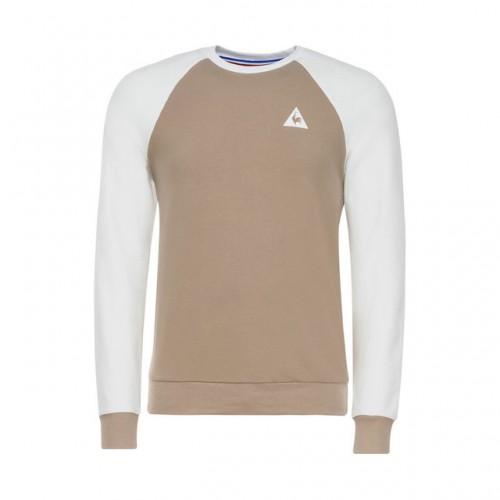 a03065346b403 Le Coq Sportif Tee Sweat Essentiels Homme Blanc Paris