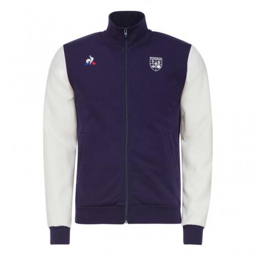 abcc536d8895 Le Coq Sportif Veste de survêtement Fiorentina Fanwear Homme Violet Remise  prix