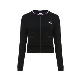 Le Coq Sportif Veste de survêtement Tricolore Femme Noir Promotions