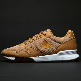 Chaussures Le Coq Sportif Omega X S Nubuck Outdoor Homme Marron