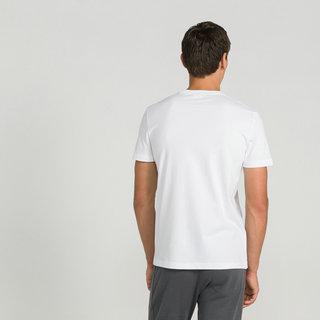 Homme Blanc Boutique Coq Sportif T Shirt Le De Essentiels POXZTiulwk