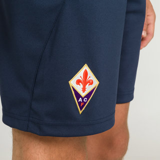 Le Coq Sportif Short Training Fiorentina Pocket Homme Bleu